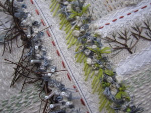 Hedges and Edges detail by Louise Watson