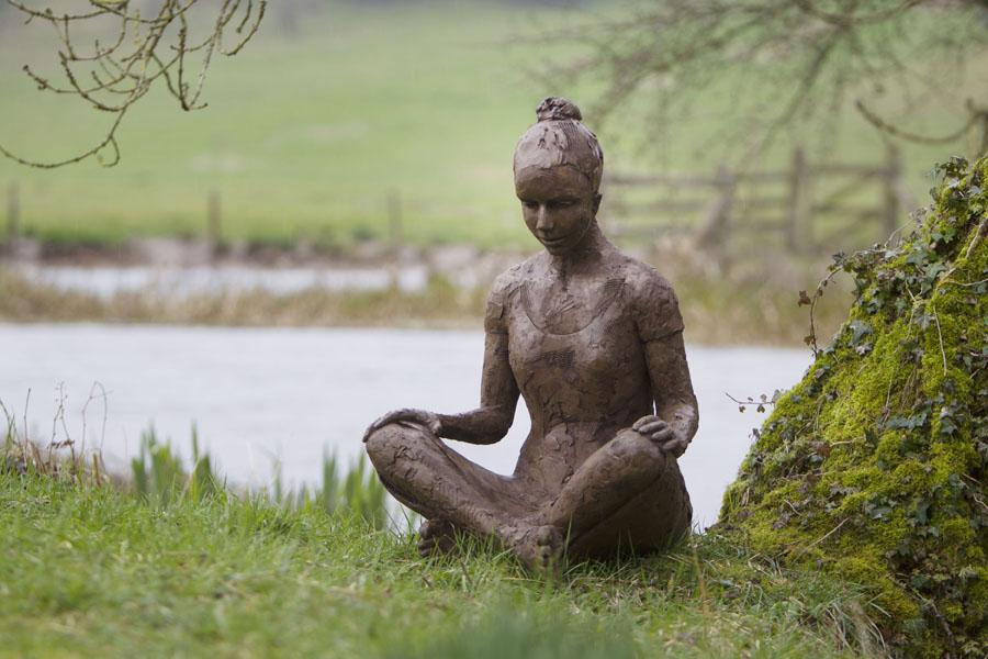 Peace sitting